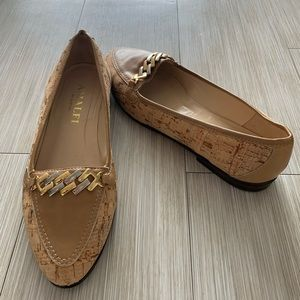 Amalfi by Rangoni chain link loafers size 7